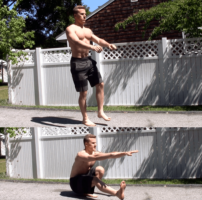 How to Train the Lower Body Without Squats or DeadliftsDumbbell Pistol Squat